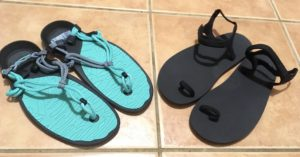 Review barefoot sandals Amuri Cloud and The Jessie