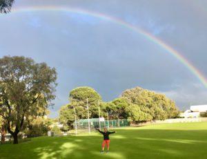 Mosman Park rainbow